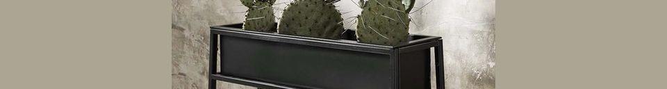 Mise en avant matière Pot de fleur Grenay