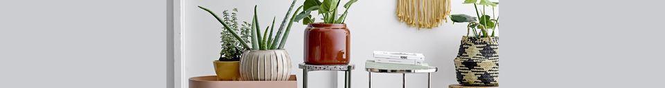 Mise en avant matière Pot de fleur Marigny