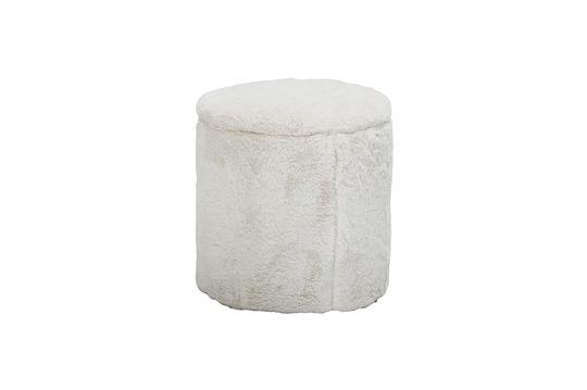 Pouf Barthe blanc
