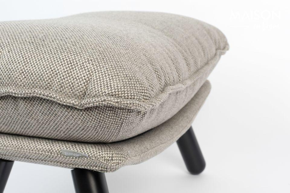 Pouf Lazy Sack gris clair - 5