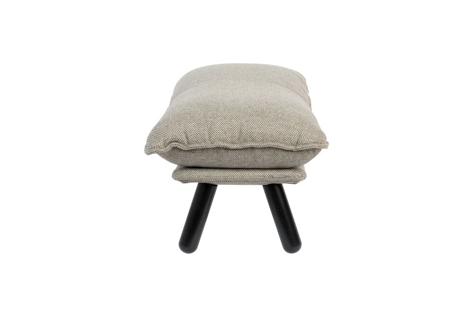 Pouf Lazy Sack gris clair - 6