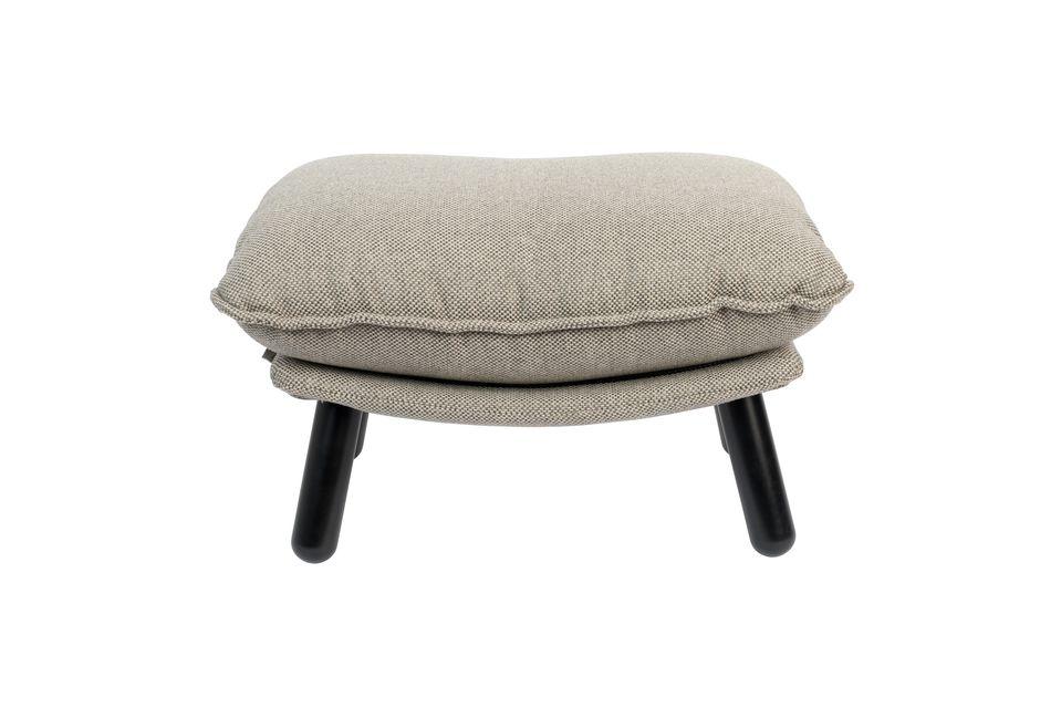 Pouf Lazy Sack gris clair - 7
