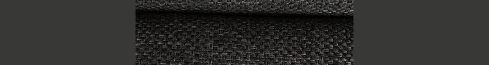 Mise en avant matière Repose-pieds Bar gris foncé