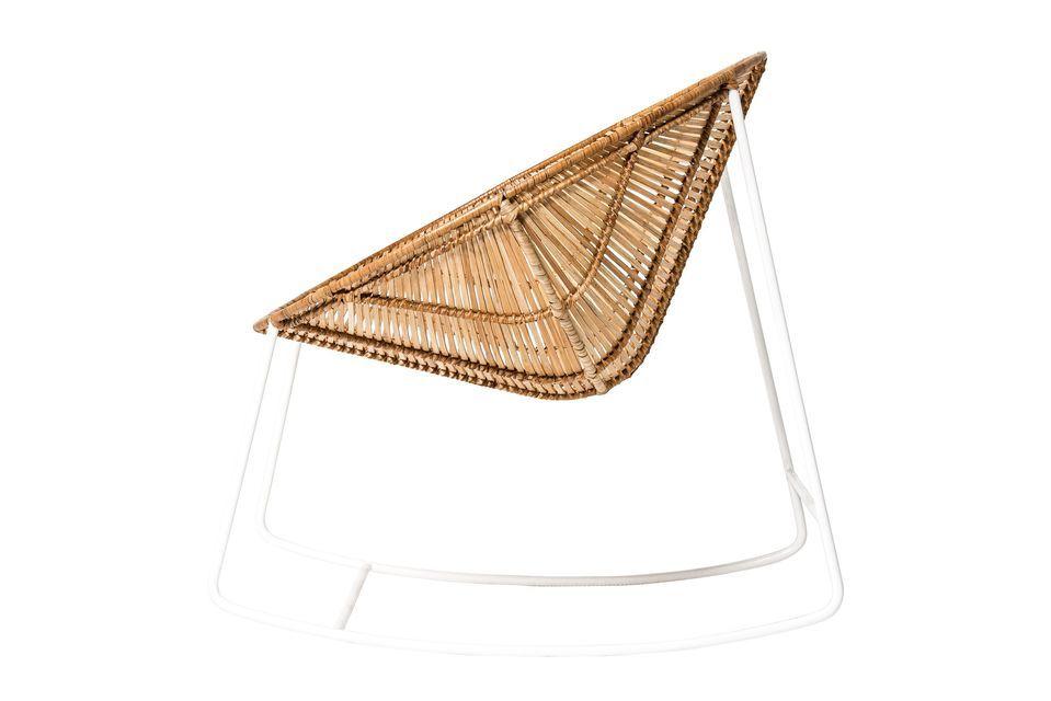 Optez donc pour le style nordique avec la chaise à bascule de l\'Orénoque