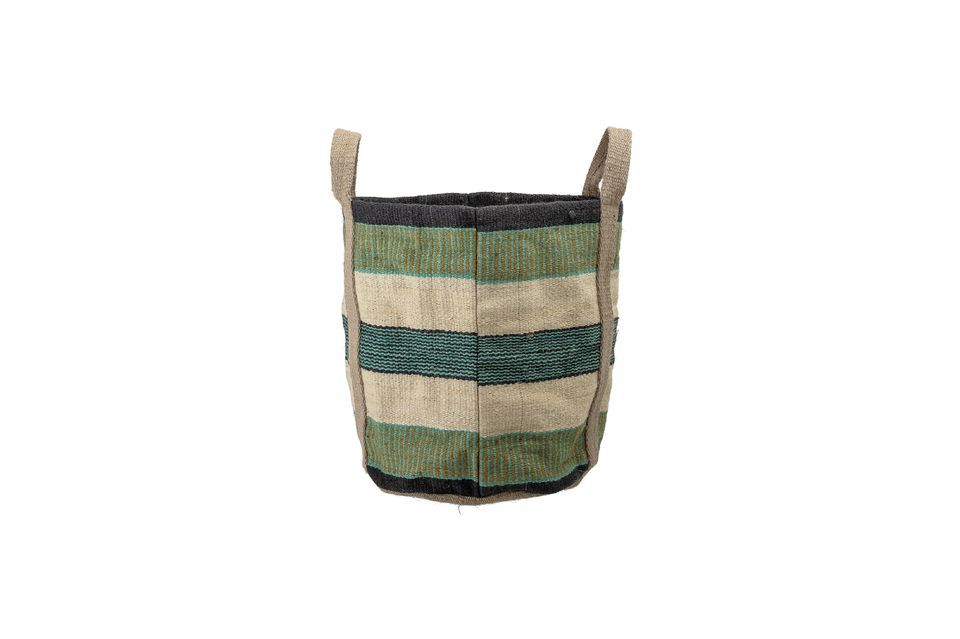 Ce solide sac en jute vous permettra de transporter tout ce dont vous avez besoin au quotidien :