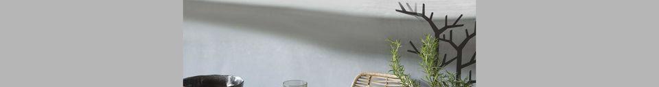 Mise en avant matière Saladier noir Porcelino Experience