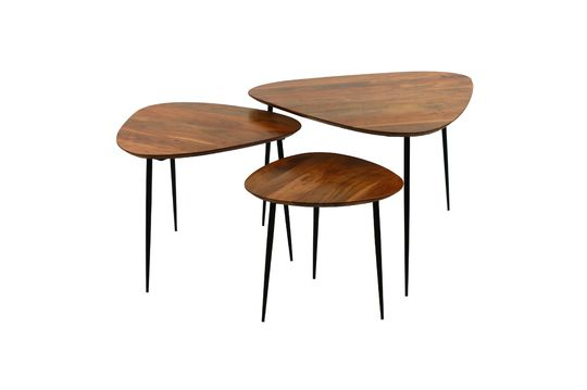 Set 3 tables d'appoint Axio