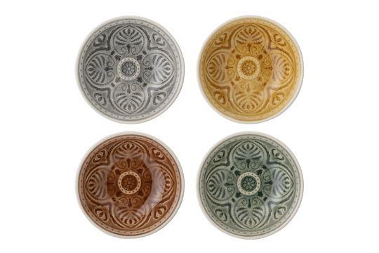 Set de 4 petits bols Rani en grès Détouré