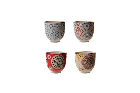 Set de 4 tasses à expresso Bohemian
