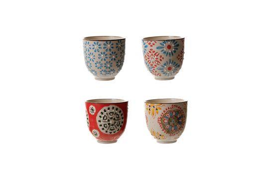 Set de 4 tasses à expresso Bohemian Détouré