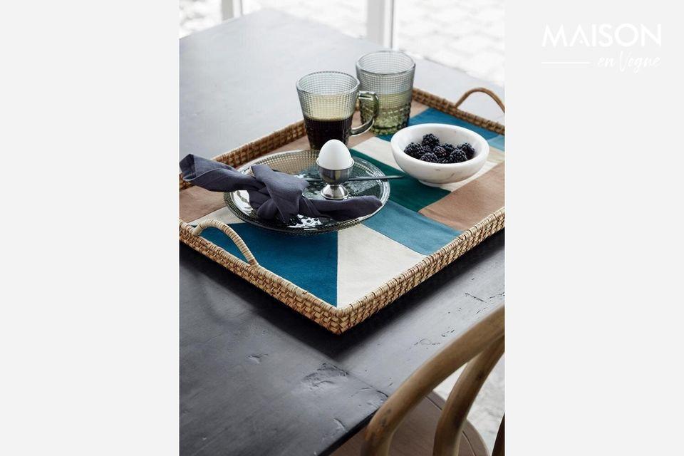 Un set de table moderne et artistique