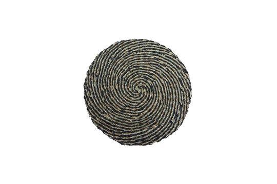 Set de table Laveyron spirale en jonc de mer naturel Détouré