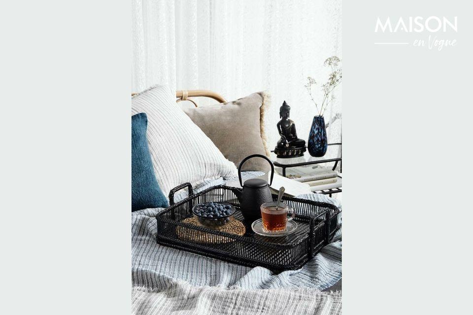 Ce set de table rond et esthétique mettra en valeur vos plats et votre cuisine