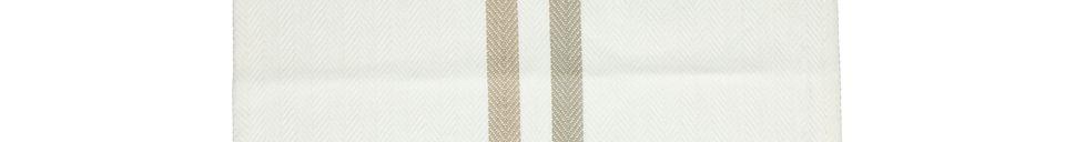 Mise en avant matière Sets de table Tizia en coton