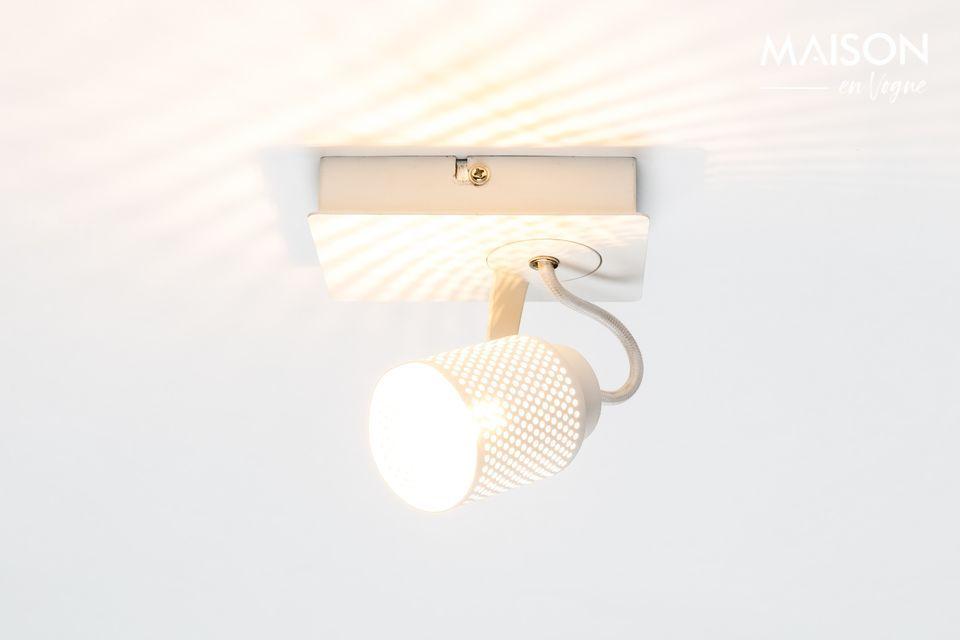 Spot lumineux Sandy-1 blanc White Label