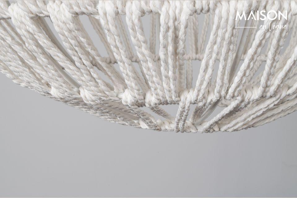 Suspension Cable Drop Blanche - 6