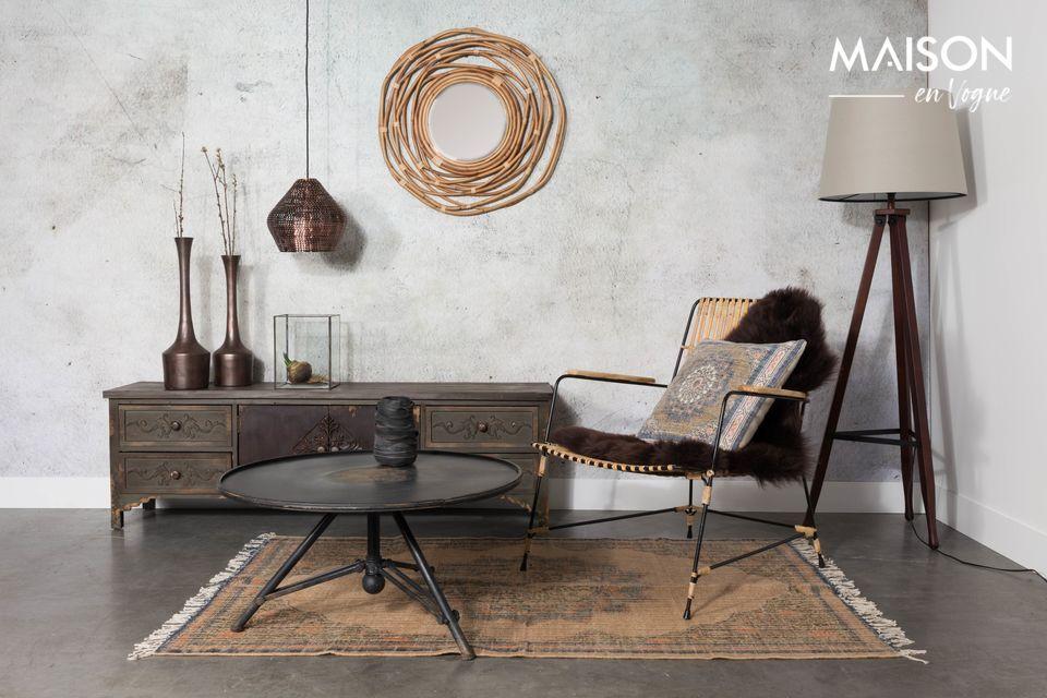 Une suspension en cuivre d'inspiration nordique pour un intérieur chic