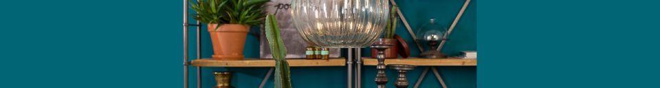 Mise en avant matière Suspension Drop Glass