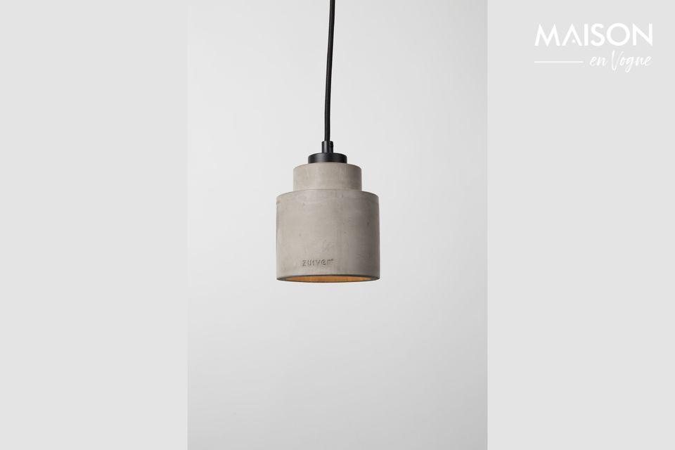 Ce petit luminaire saura moderniser l\'intérieur de manière discrète