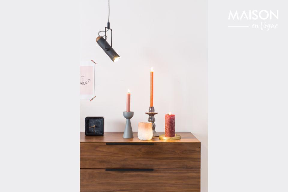 Une lampe industrielle aux multiples possibilités