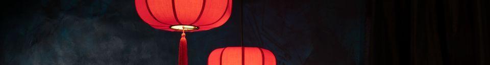 Mise en avant matière Suspensoir Suoni rouge