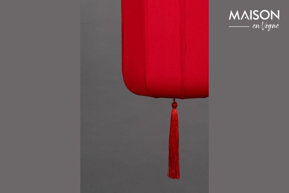 Une jolie touche exotique qui rappelle les anciens lampions chinois