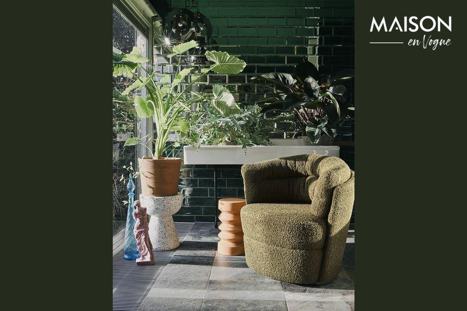 Le terrazzo est un revêtement italien composé de fragments de pierres naturelles et de marbre