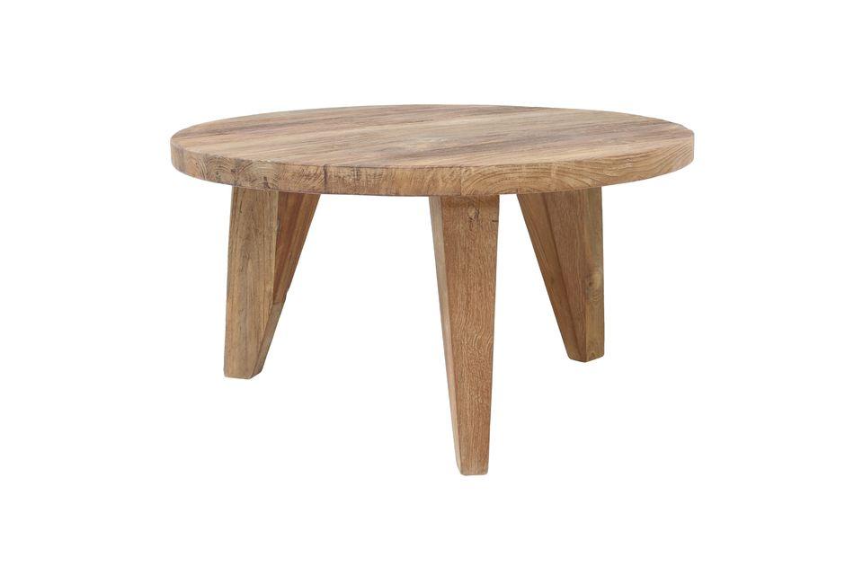 Table basse Elan en teck taille M