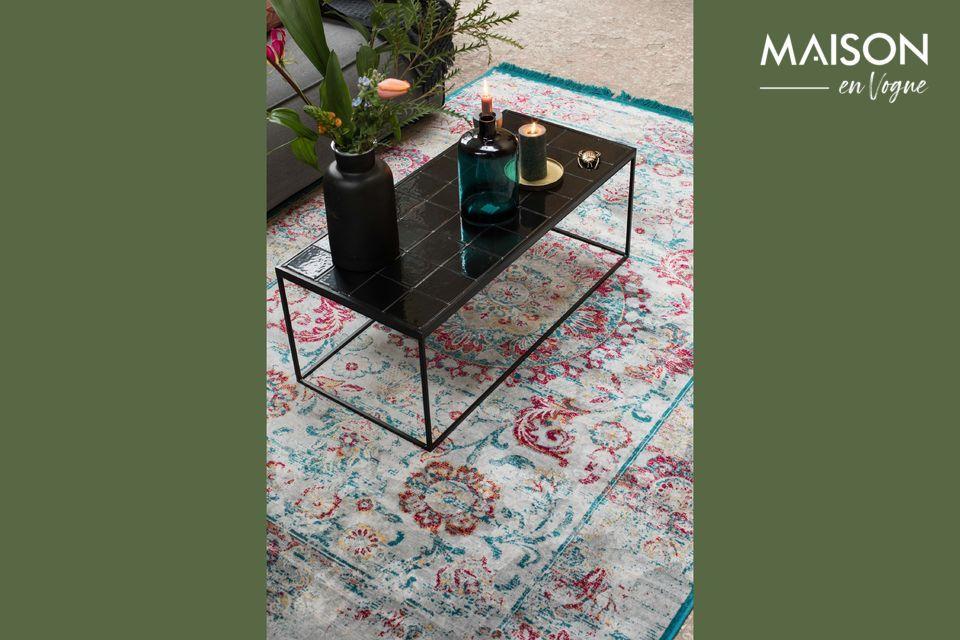 Table Basse Glazed Noire