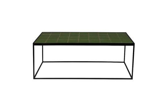 Table Basse Glazed Verte