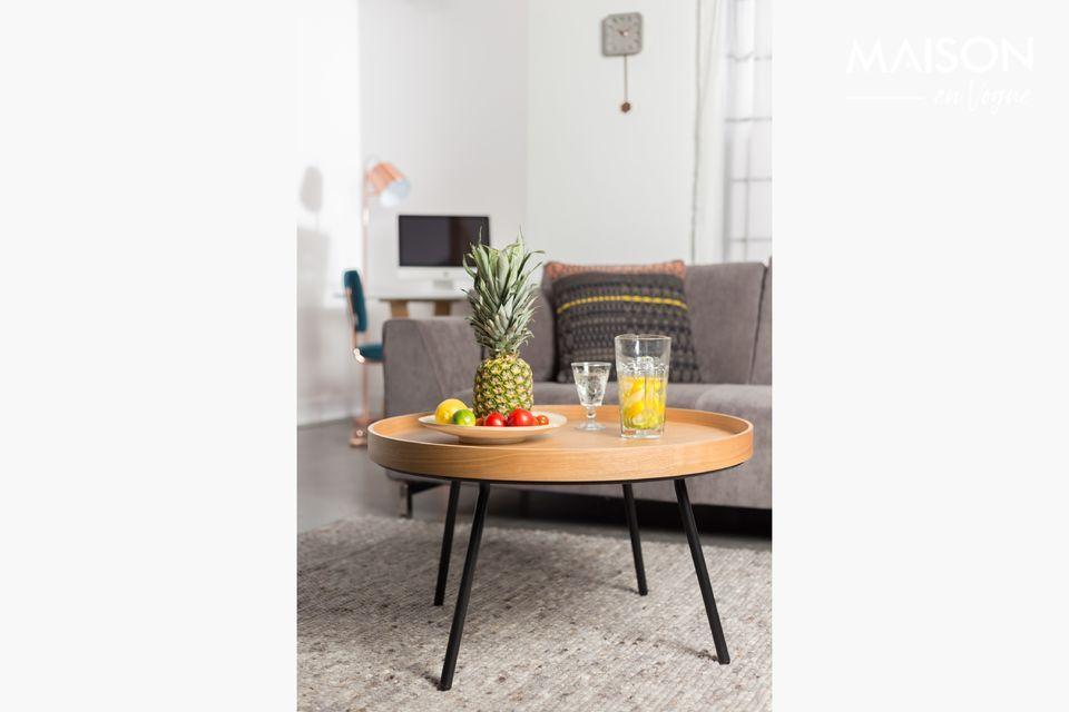 Table Basse Oak Tray