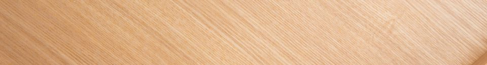 Mise en avant matière Table Basse Oak Tray