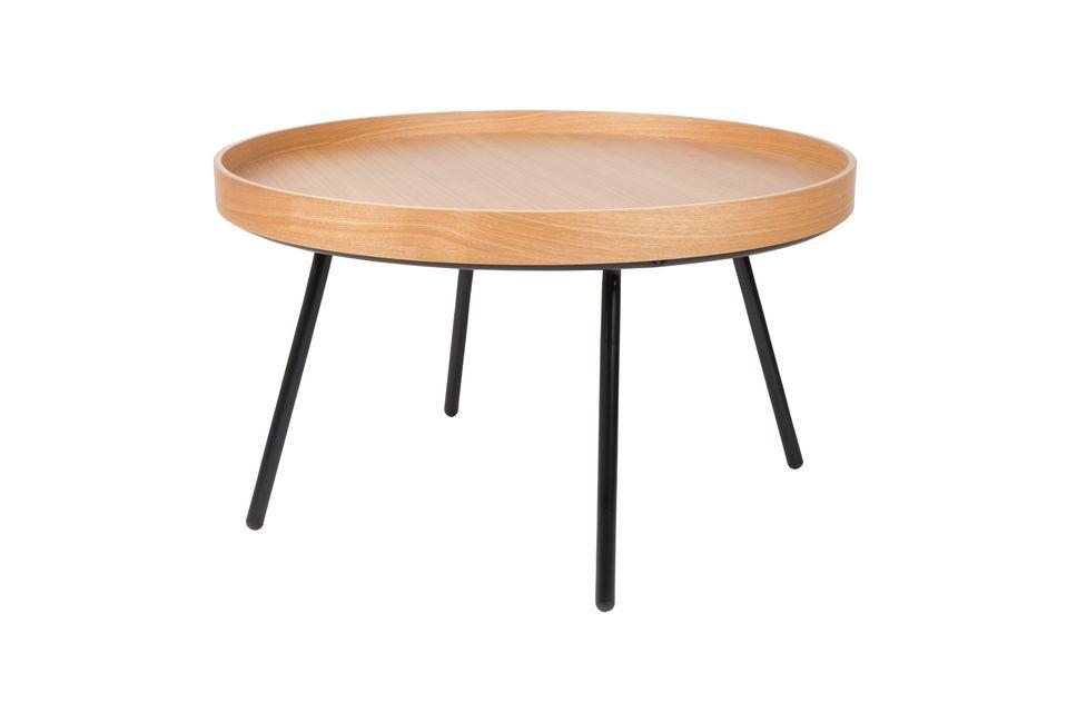 Table Basse Oak Tray - 9