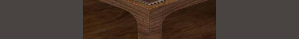 Mise en avant matière Table basse Sita