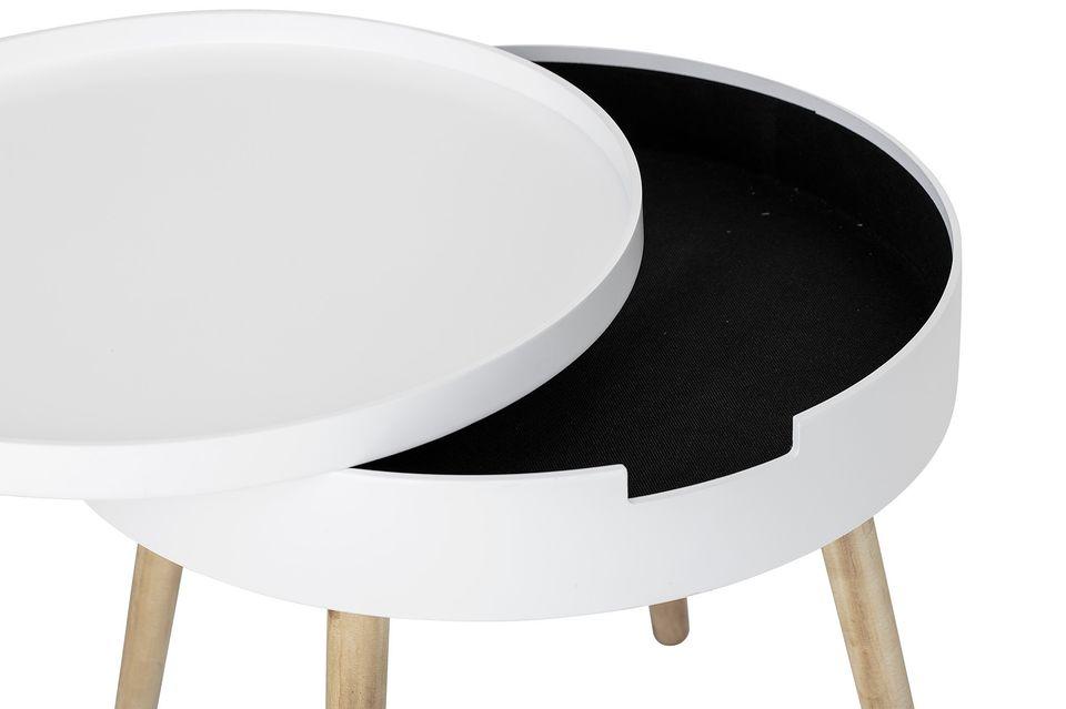 Une table design et astucieuse