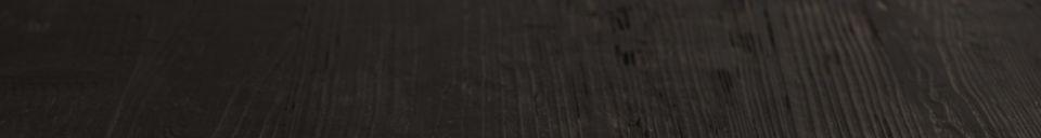 Mise en avant matière Table Bistro Braza carrée coloris noir