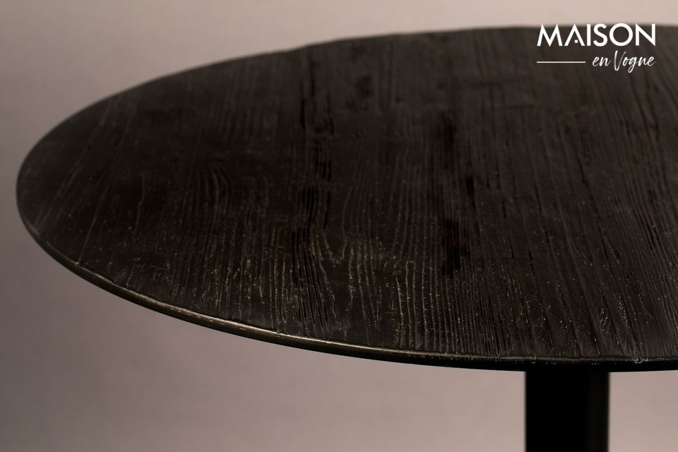 Table Bistro Braza ronde coloris noir - 6