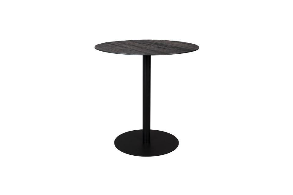 Table Bistro Braza ronde coloris noir - 7