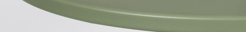 Mise en avant matière Table Bistro Metsu Verte