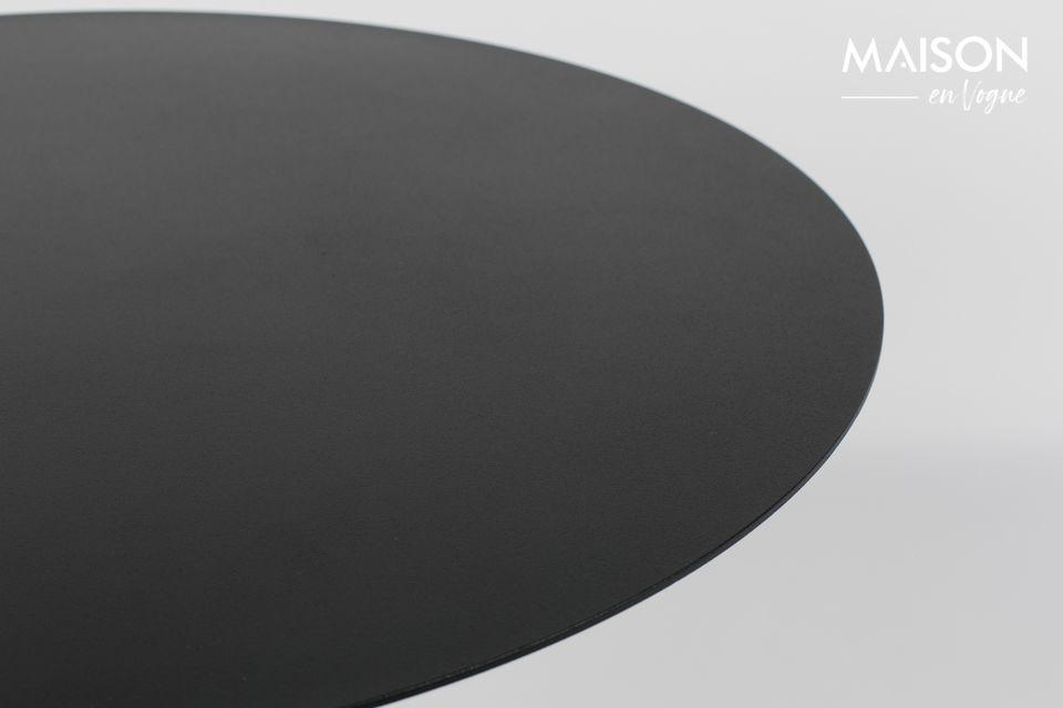 Table Bistro Snow noire - 4