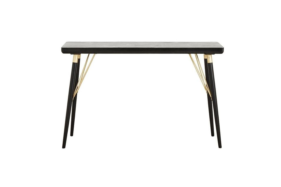 Table console en bois Pulligny