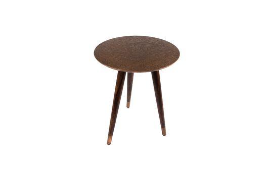 Table d'appoint Bast finition cuivre Détouré