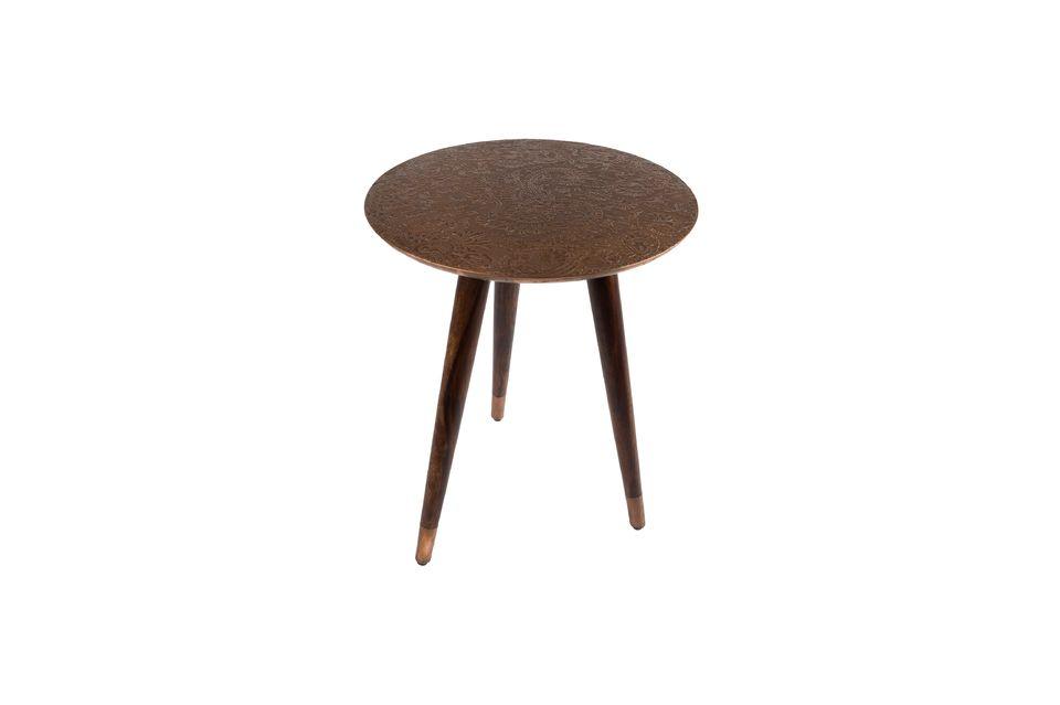 Table d'appoint Bast finition cuivre - 6