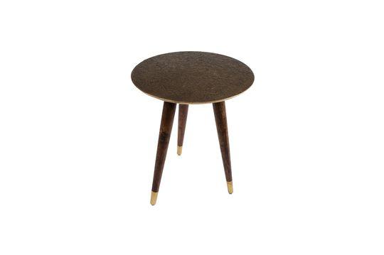 Table d'appoint Bast finition laiton Détouré