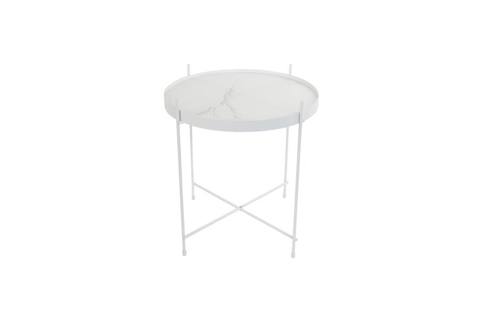 Table d'appoint Cupid Marbre Blanc - 7