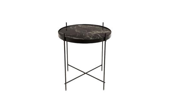 Table d'appoint Cupid Marbre Noir Détouré