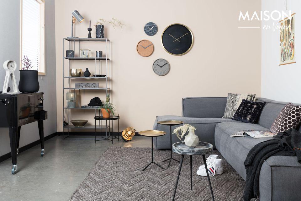 Une table d'appoint au design moderne