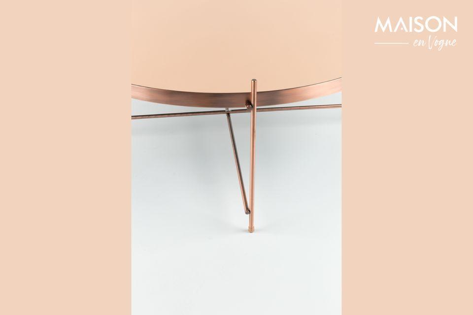 Vous apprécierez son design dans l\'air du temps ainsi que son plateau en verre amovible effet