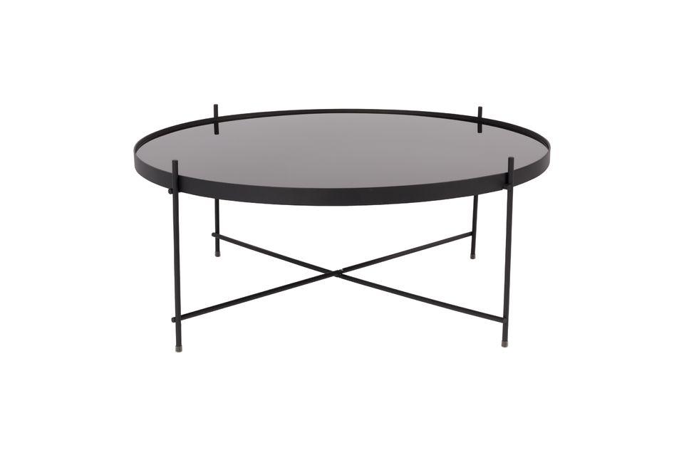 Table d'appoint Cupid XXL noire