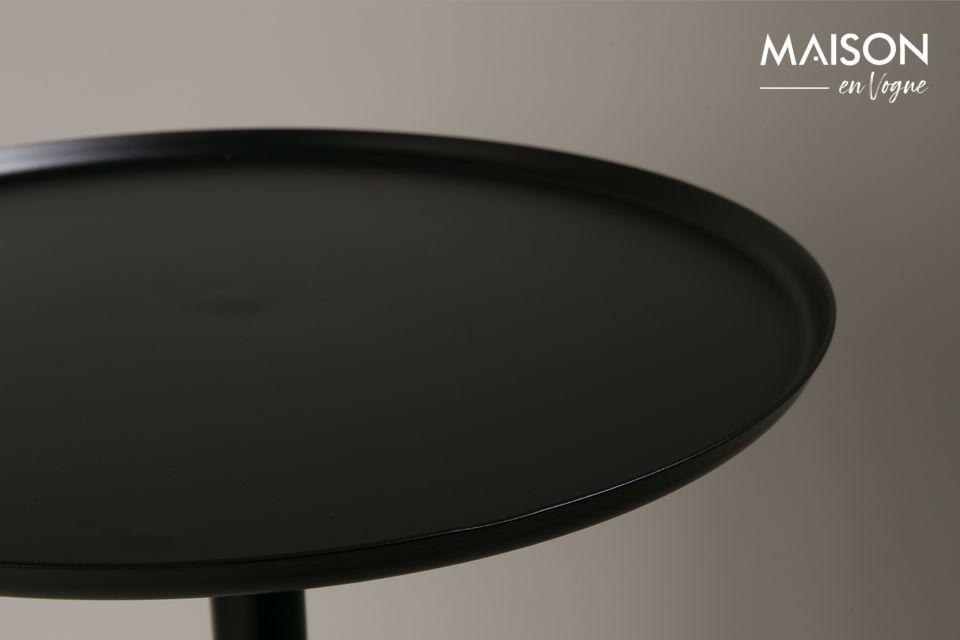 Table d'appoint Elia finition noire et Laiton - 6